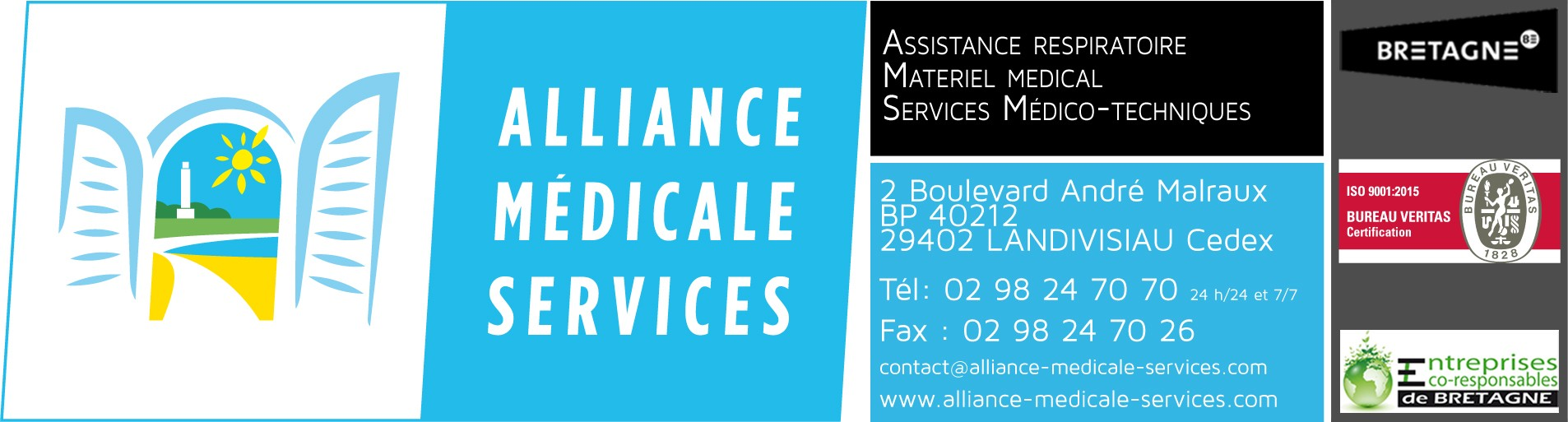 Alliance Médicale Services logo